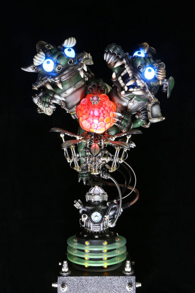 宇田川誉仁氏と門脇瑞砂さんのユニット「Shovel Head」とのコラボレーション